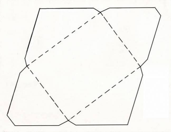 шаблон конверта